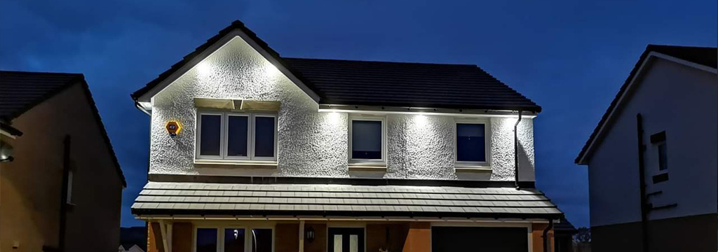 Exterior Lighting Electricians Glasgow